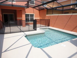 Sabal Palm Model Pool Area at Storey Lake
