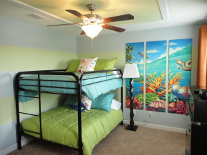 Alexander Palm Model Kids Bedroom at Storey Lake