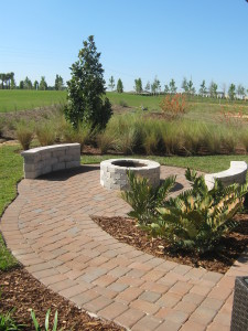 Hideaway Model Fire Pit at ChampionsGate