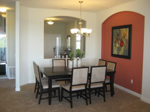 Hideaway Model Dining Room at ChampionsGate
