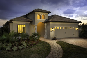 Hideaway Model Front Exterior at ChampionsGate