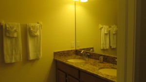 Sabal Palm Model Bathroom at Storey Lake