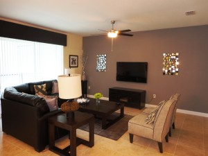 Majesty Palm Model Living Room at Storey Lake