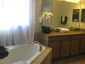 Hideaway Model Master Bathroom at ChampionsGate
