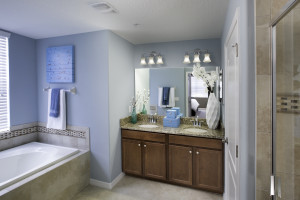 Augusta Model Master Bathroom at ChampionsGate