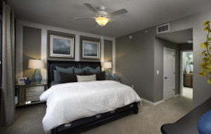Augusta Model Master Bedroom at ChampionsGate