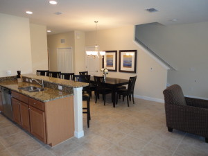 Royale Palm Model Kitchen and Dining Room at Storey Lake