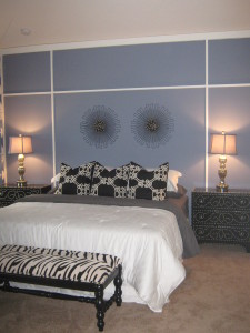 Sand Dollar Model Master Bedroom at ChampionsGate