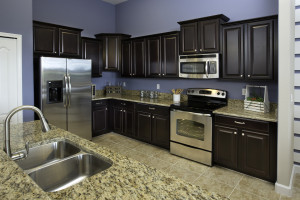 Sand Dollar Model Kitchen at ChampionsGate