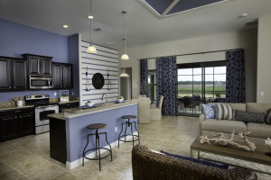 Sand Dollar Model Kitchen Nook at ChampionsGate