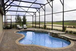 Sand Dollar Model Pool at ChampionsGate