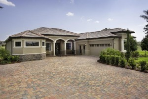 Stockton Grande Model Front Exterior at ChampionsGate