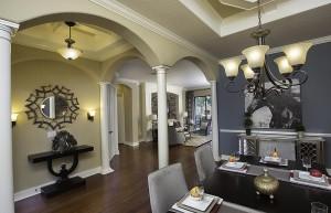 Stockton Grande Model Dining Room at ChampionsGate
