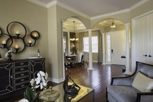 Stockton Grande Model Living Room at ChampionsGate