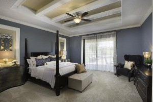 Stockton Grande Model Master Bedroom at ChampionsGate